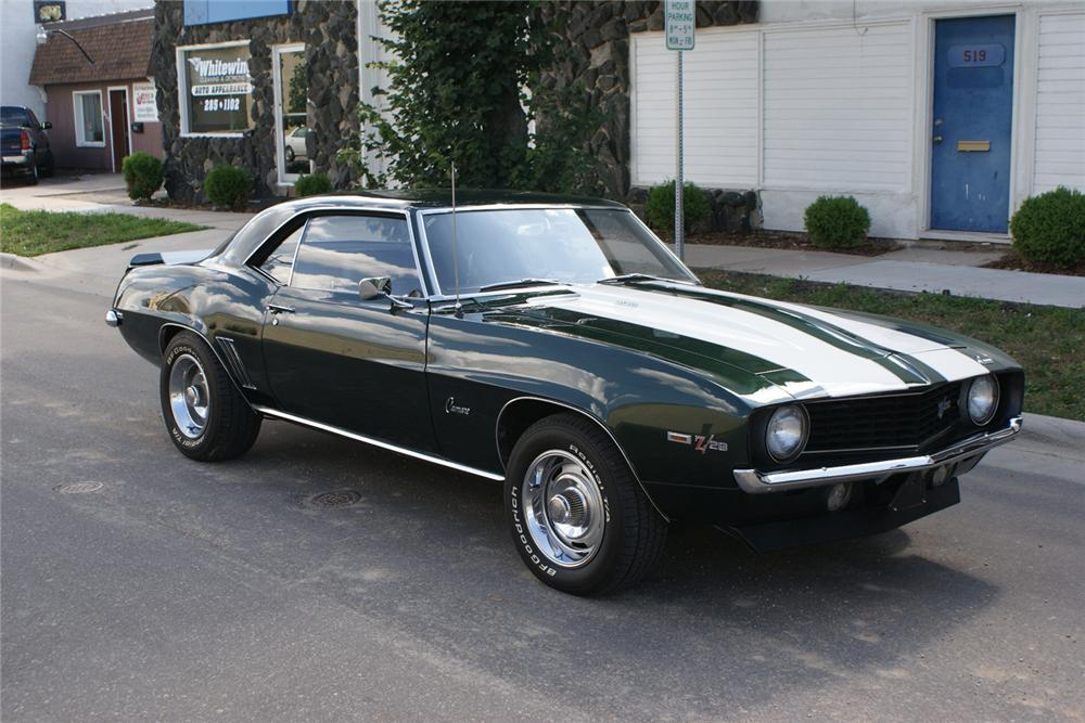1969 CHEVROLET CAMARO Z/28 COUPE - Front 3/4 - 71185