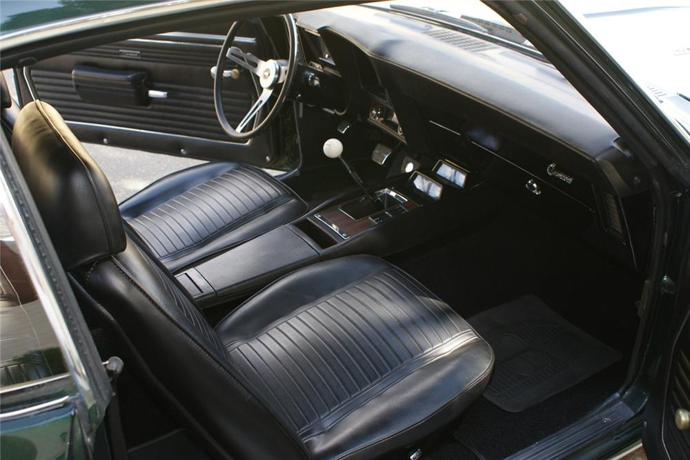 1969 CHEVROLET CAMARO Z/28 COUPE - Interior - 71185