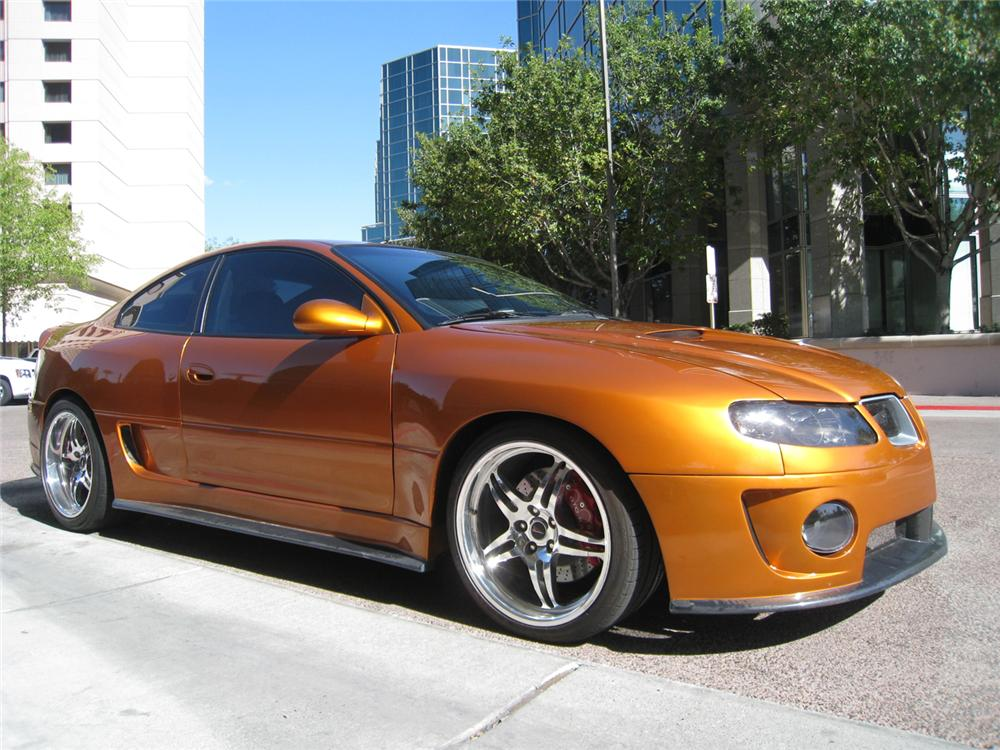 2006 PONTIAC GTO RA6 CUSTOM COUPE
