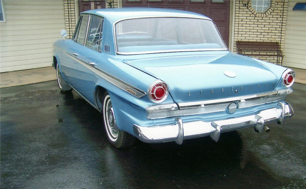 1963 STUDEBAKER LARK CRUISER 4 DOOR SEDAN - Rear 3/4 - 71187