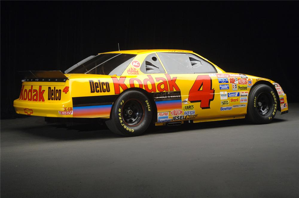 1995 CHEVROLET LUMINA NASCAR #4 KODAK STERLING MARLIN - Rear 3/4 - 71192