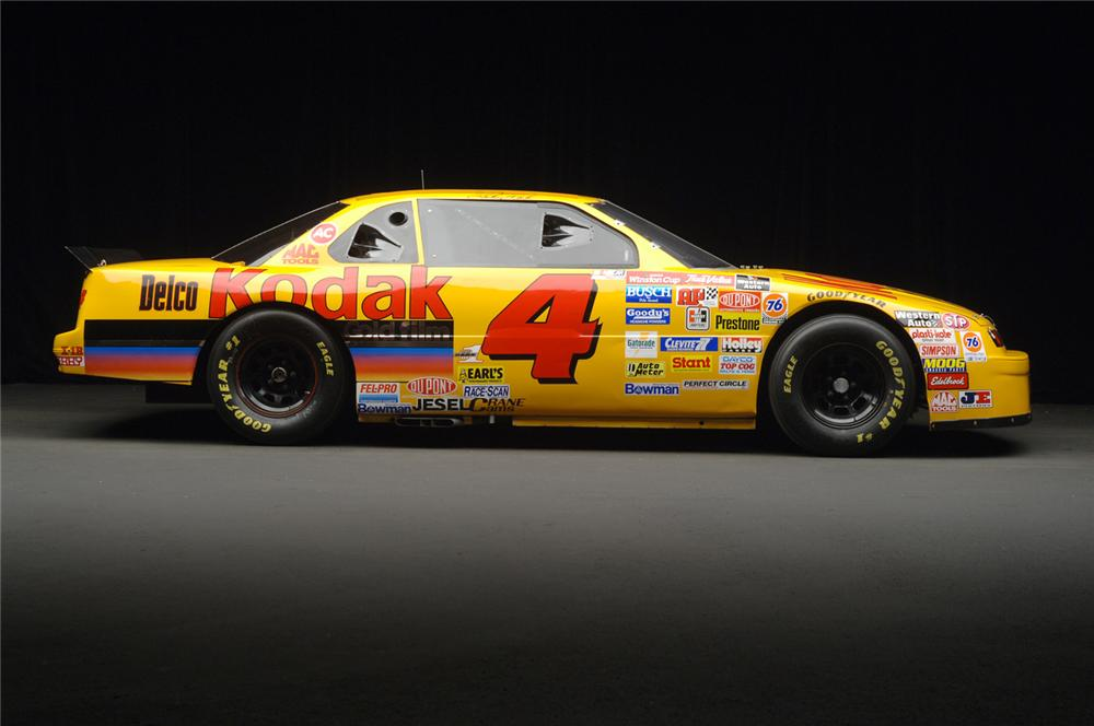 1995 CHEVROLET LUMINA NASCAR #4 KODAK STERLING MARLIN - Side Profile - 71192
