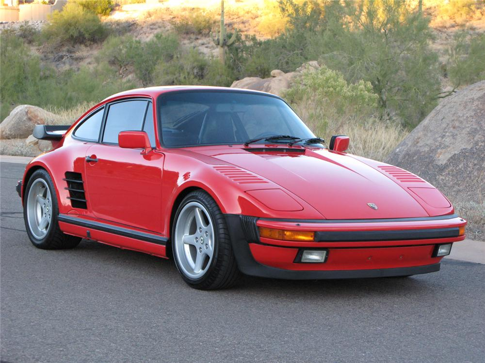 1989 PORSCHE 930S 2 DOOR COUPE - Front 3/4 - 71196