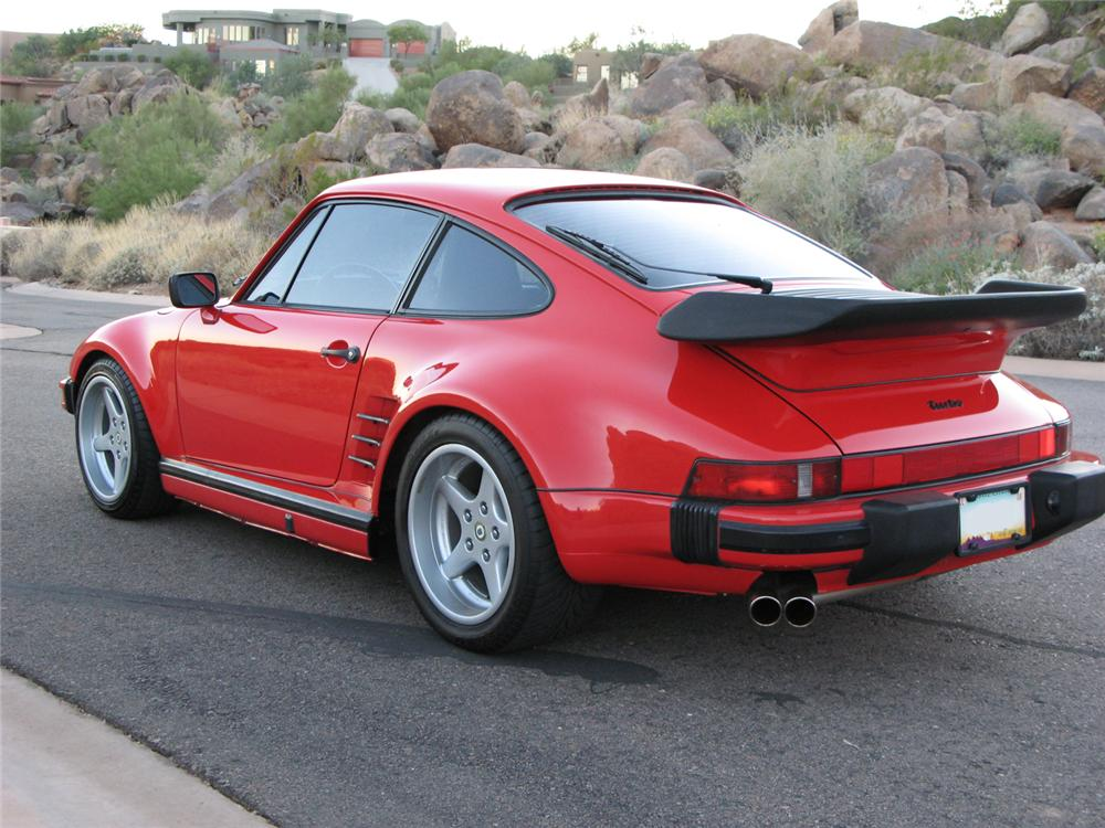 1989 PORSCHE 930S 2 DOOR COUPE - Rear 3/4 - 71196