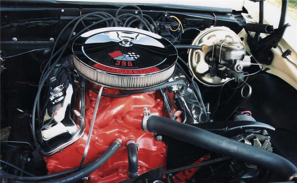 1967 CHEVROLET CAMARO RS/SS 2 DOOR HARDTOP - Engine - 71203