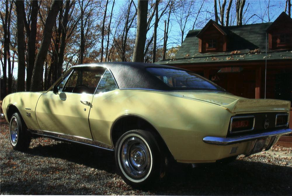 1967 CHEVROLET CAMARO RS/SS 2 DOOR HARDTOP - Rear 3/4 - 71203