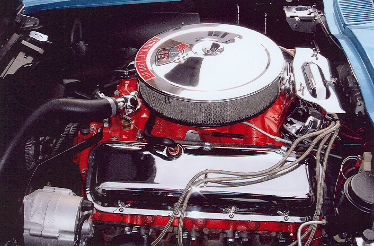 1966 CHEVROLET CORVETTE CONVERTIBLE - Engine - 71206
