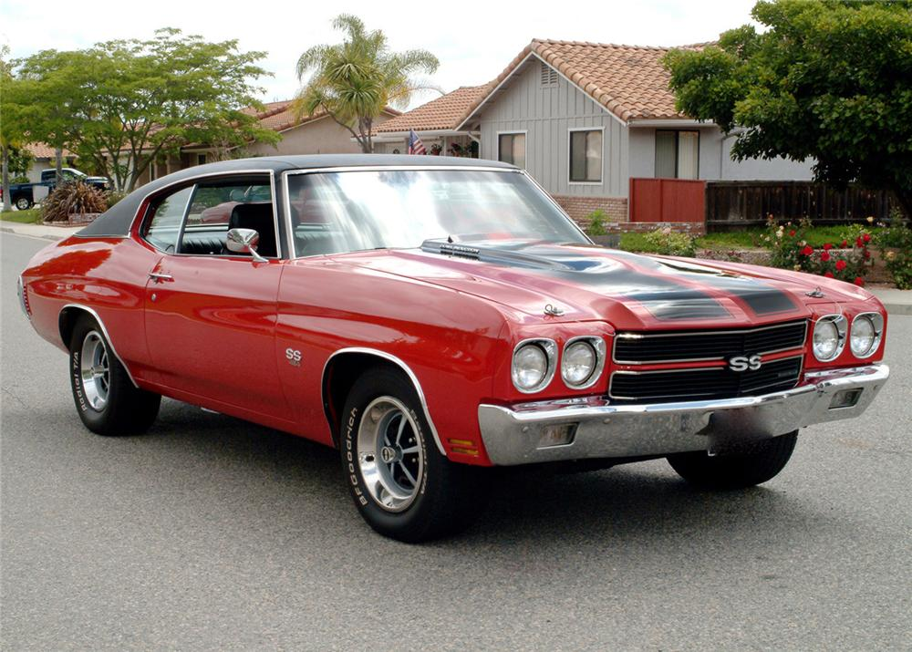 1970 CHEVROLET CHEVELLE SS 396 COUPE - Front 3/4 - 71208