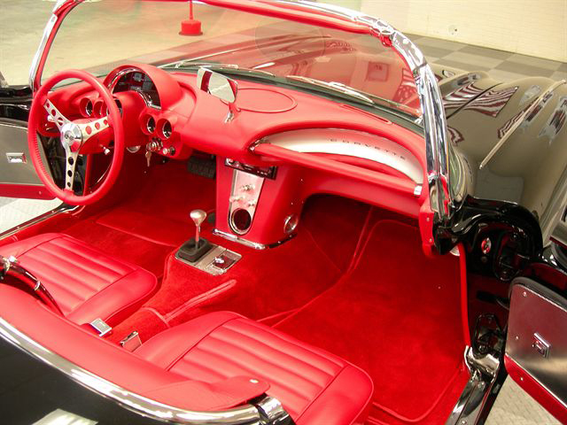 1962 CHEVROLET CORVETTE CONVERTIBLE RESTO-MOD - Engine - 71211