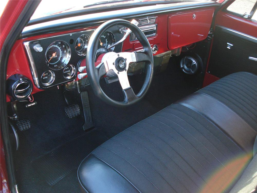 1969 CHEVROLET C-10 CUSTOM PICKUP - Interior - 71213