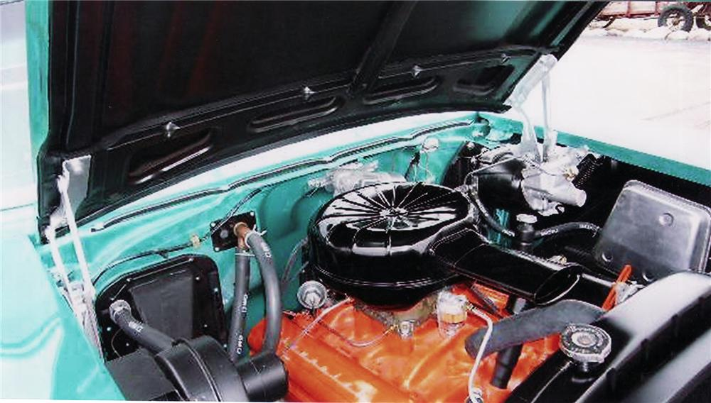 1957 CHEVROLET BEL AIR CONVERTIBLE - Engine - 71222
