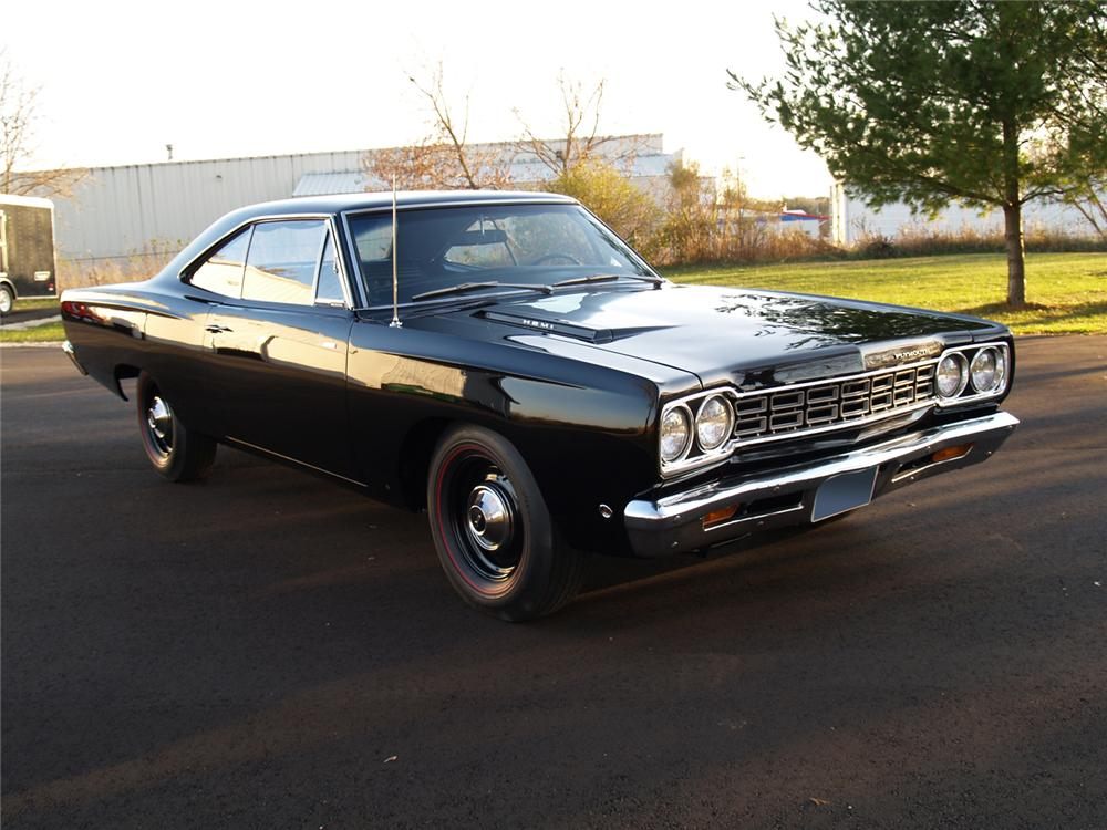 1968 PLYMOUTH HEMI ROAD RUNNER 2 DOOR HARDTOP - Front 3/4 - 71230