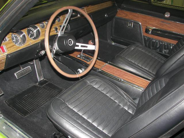 1970 DODGE CHARGER R/T 2 DOOR HARDTOP - Interior - 71234
