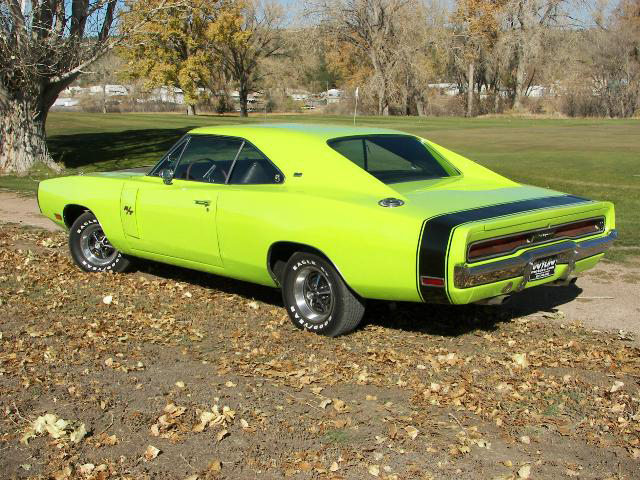 1970 DODGE CHARGER R/T 2 DOOR HARDTOP - Rear 3/4 - 71234