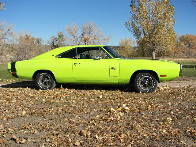 1970 DODGE CHARGER R/T 2 DOOR HARDTOP - Side Profile - 71234