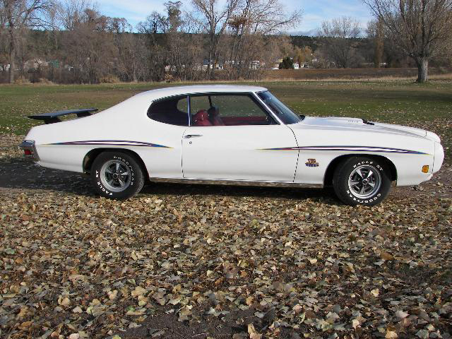 1970 PONTIAC GTO JUDGE 2 DOOR HARDTOP - Side Profile - 71235