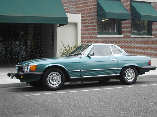 1982 MERCEDES-BENZ 380SL CONVERTIBLE - Side Profile - 71260