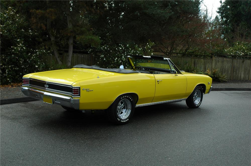 1967 CHEVROLET CHEVELLE SS CONVERTIBLE 427 RE-CREATION - 71270