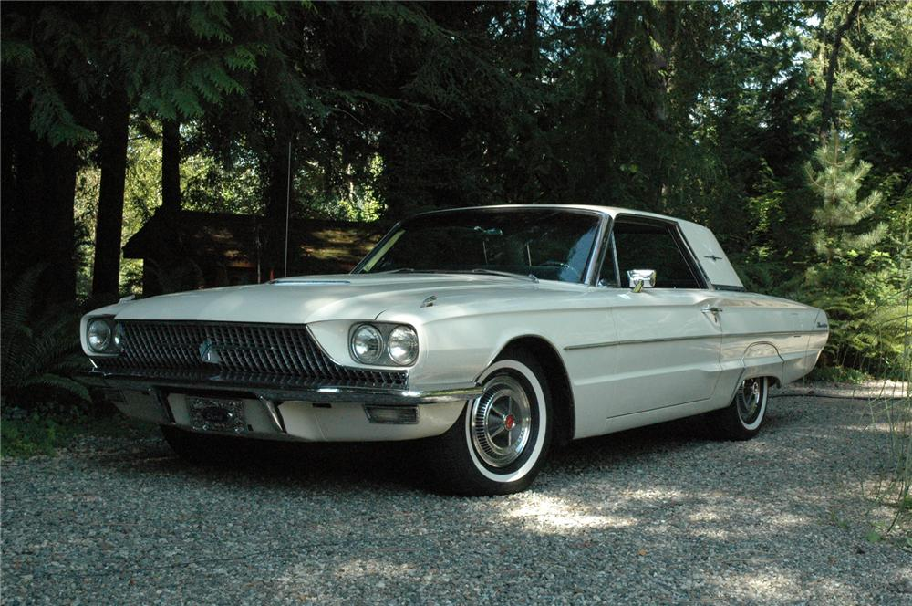 1966 FORD THUNDERBIRD CONVERTIBLE - Front 3/4 - 71271