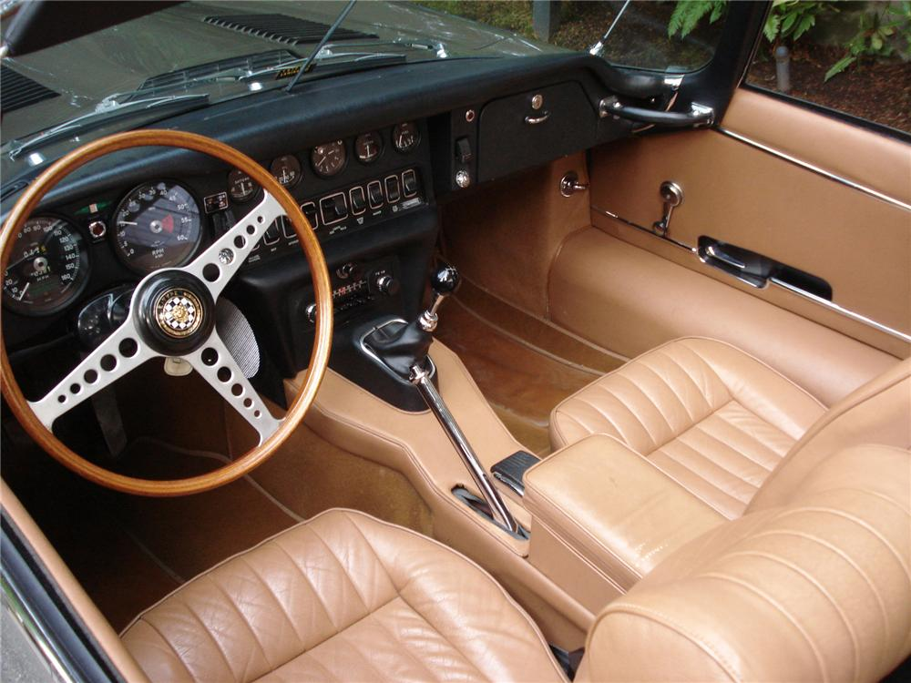 1969 JAGUAR XKE ROADSTER - Interior - 71274