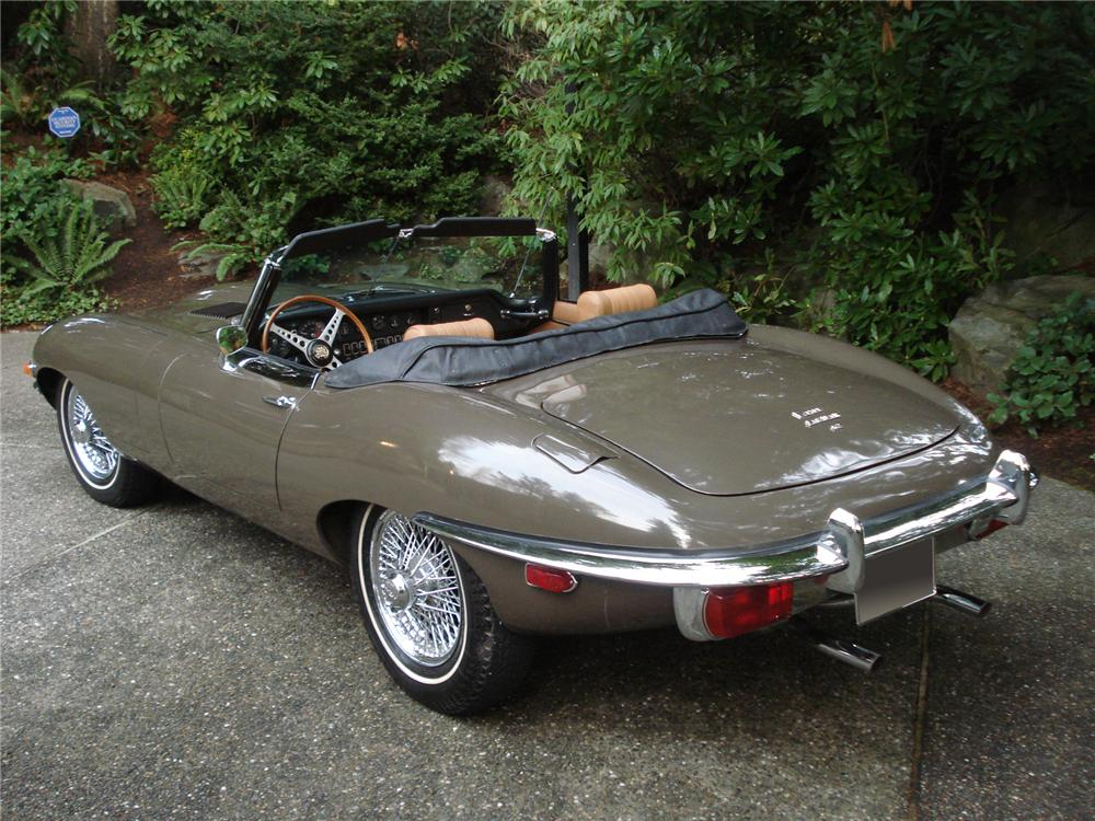 1969 JAGUAR XKE ROADSTER - Rear 3/4 - 71274