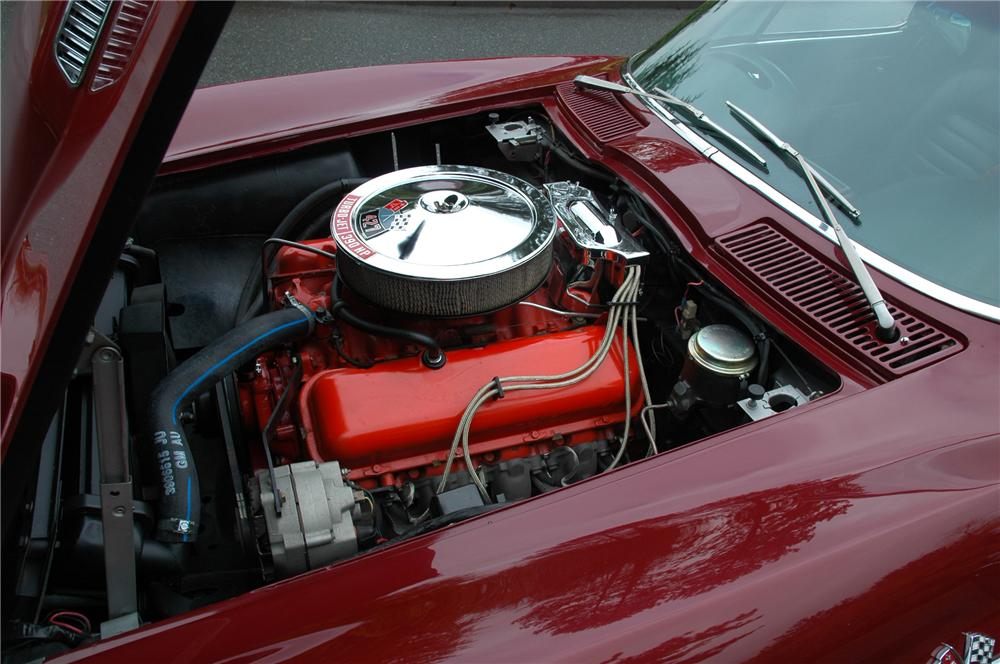 1966 CHEVROLET CORVETTE COUPE - Engine - 71276