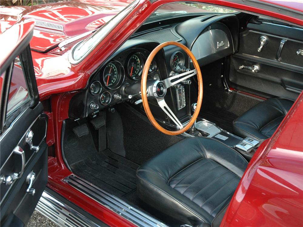 1966 CHEVROLET CORVETTE COUPE - Interior - 71276