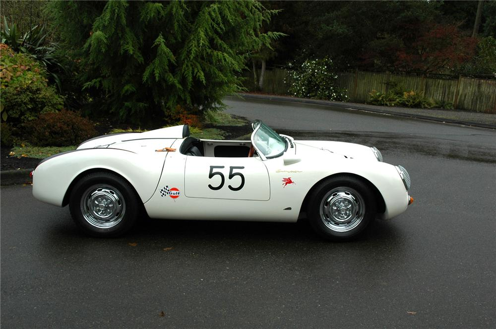 1955 PORSCHE 550 SPYDER RE-CREATION - Side Profile - 71278