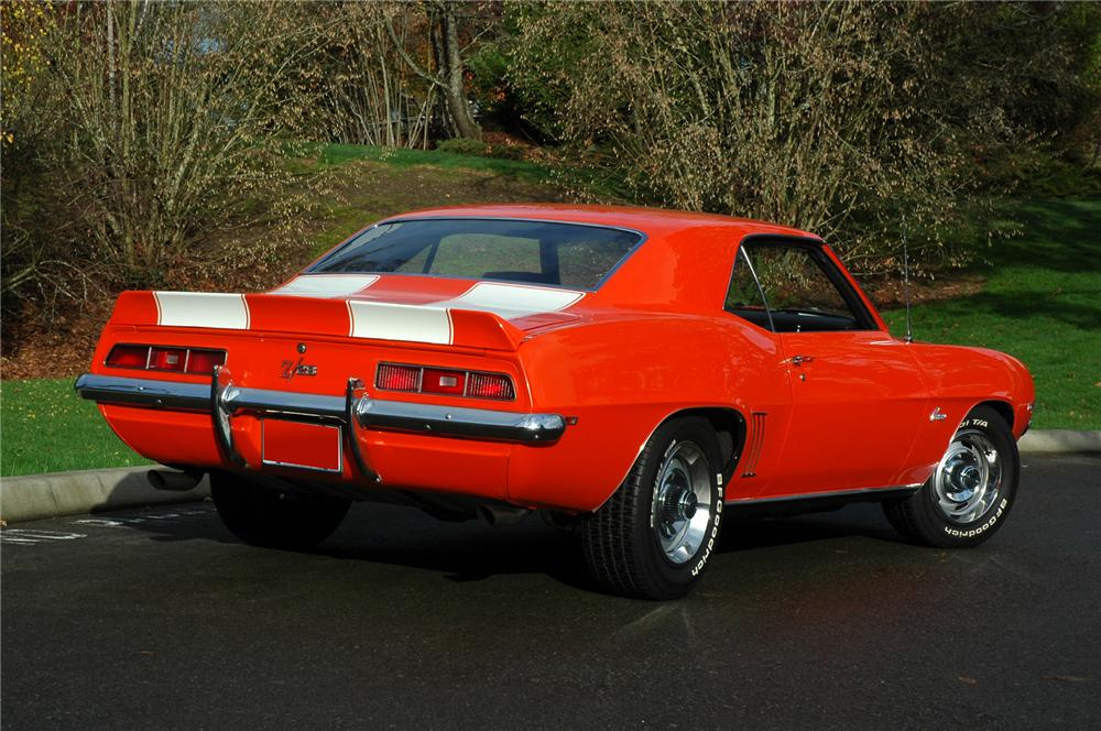 1969 CHEVROLET CAMARO Z/28   - Rear 3/4 - 71279