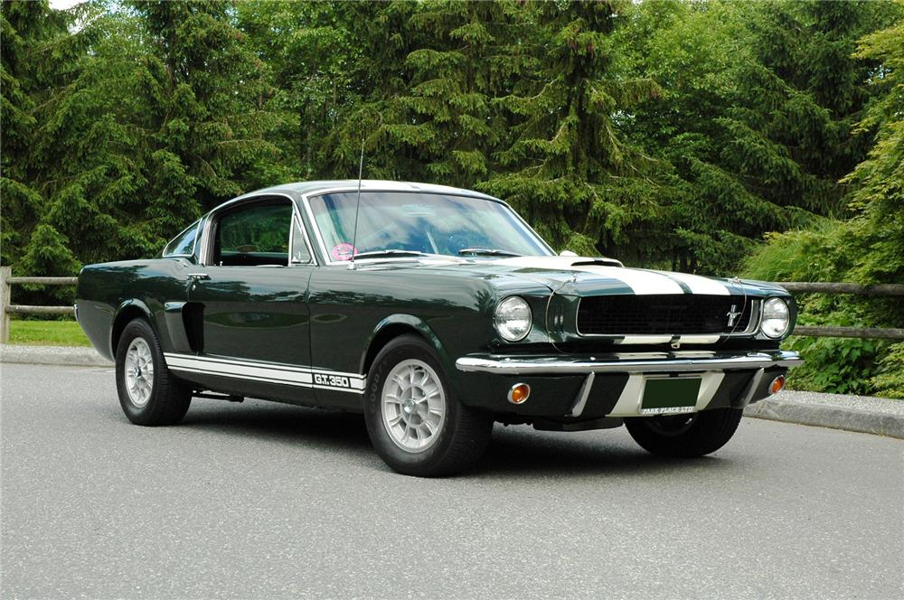 1966 SHELBY GT350 FASTBACK - Front 3/4 - 71282