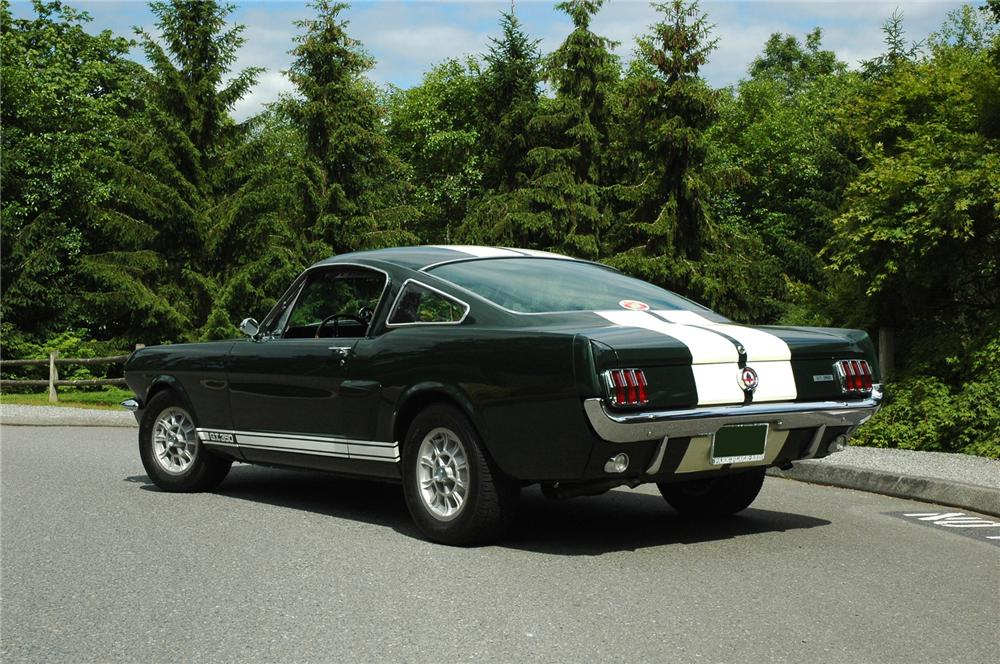 1966 SHELBY GT350 FASTBACK - Rear 3/4 - 71282