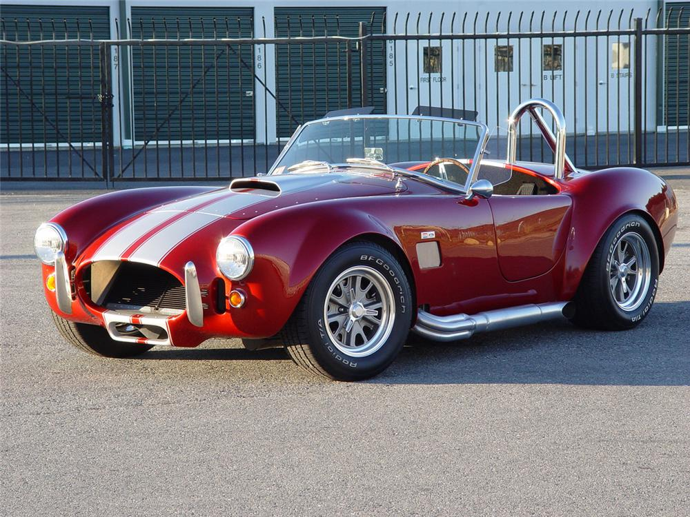 1965 SHELBY COBRA ROADSTER RE-CREATION - Front 3/4 - 71295