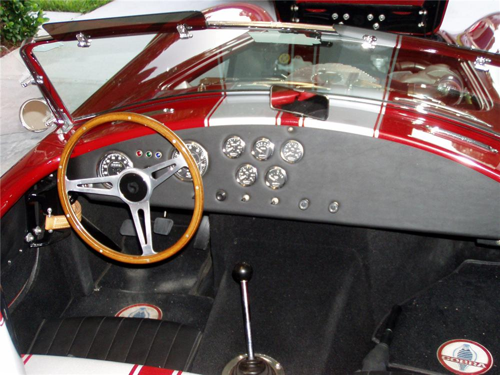 1965 SHELBY COBRA ROADSTER RE-CREATION - Interior - 71295