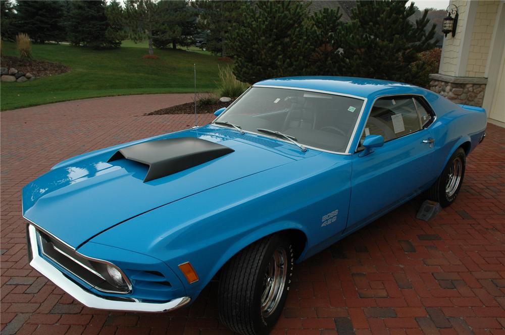 1970 FORD MUSTANG BOSS 429 FASTBACK - Front 3/4 - 71380