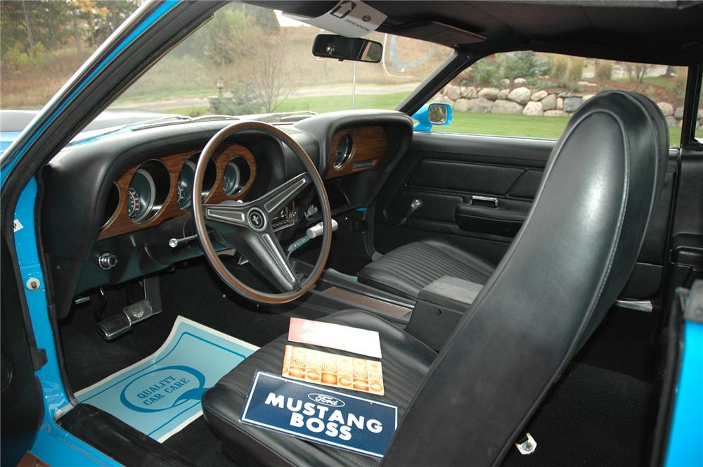 1970 FORD MUSTANG BOSS 429 FASTBACK - Interior - 71380