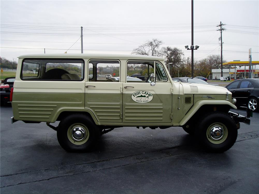 1967 Toyota Land Cruiser 4 Door Fj45 Alan Jacksons 71388
