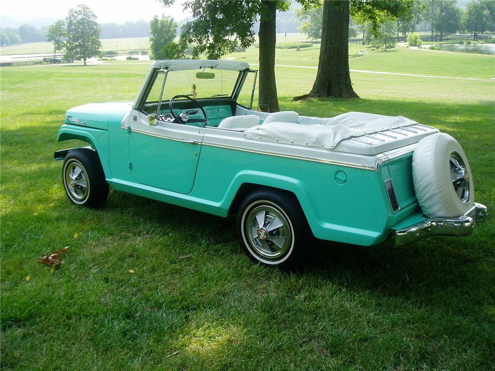 "1967 JEEP JEEPSTER COMMANDO CONVERTIBLE ""ALAN JACKSONS"" - Rear 3/4 - 71404"