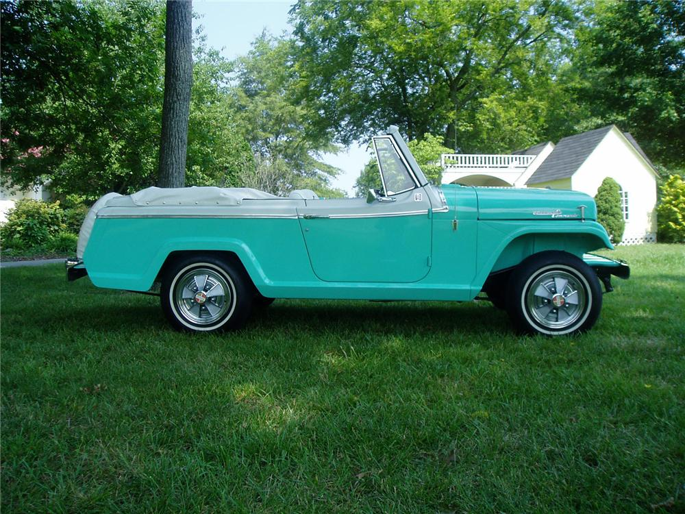 "1967 JEEP JEEPSTER COMMANDO CONVERTIBLE ""ALAN JACKSONS"" - Side Profile - 71404"