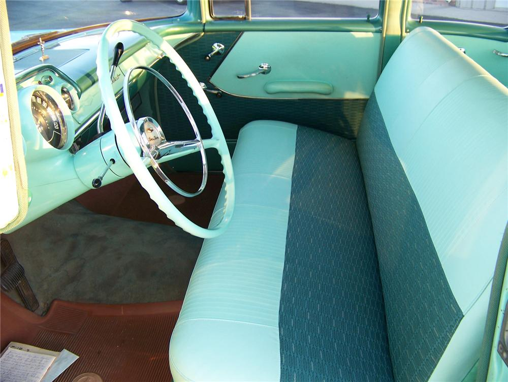 1957 CHEVROLET 210 4 DOOR SEDAN - Interior - 71411