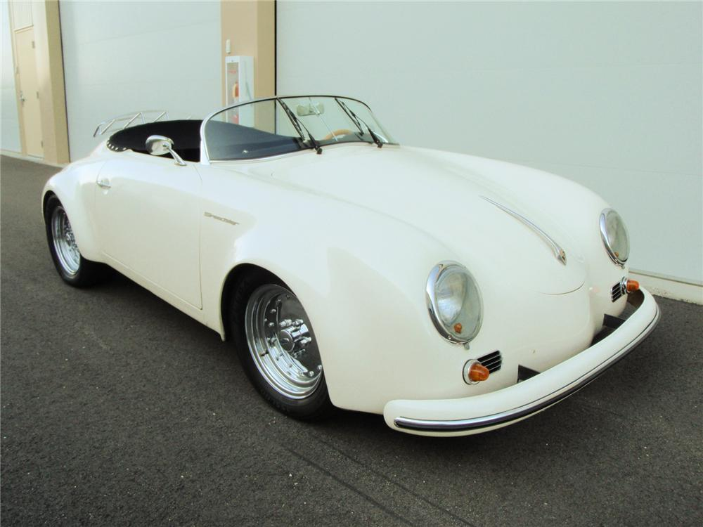 1955 PORSCHE 356 SPEEDSTER RE-CREATION - Front 3/4 - 71420