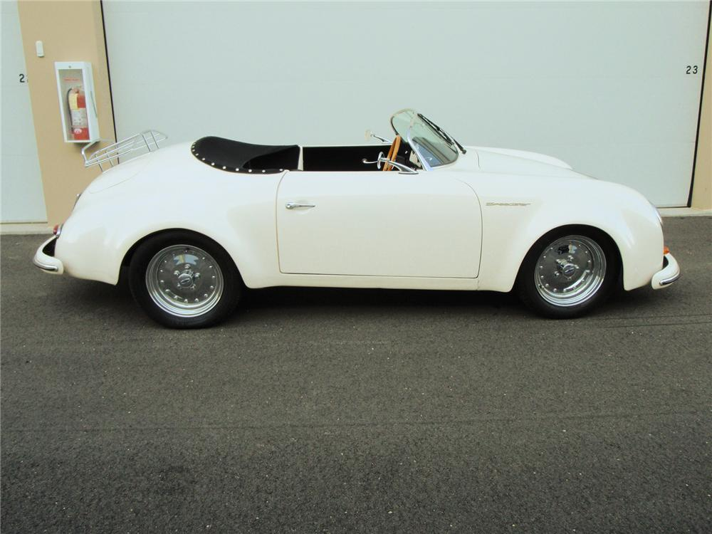 1955 PORSCHE 356 SPEEDSTER RE-CREATION - Side Profile - 71420