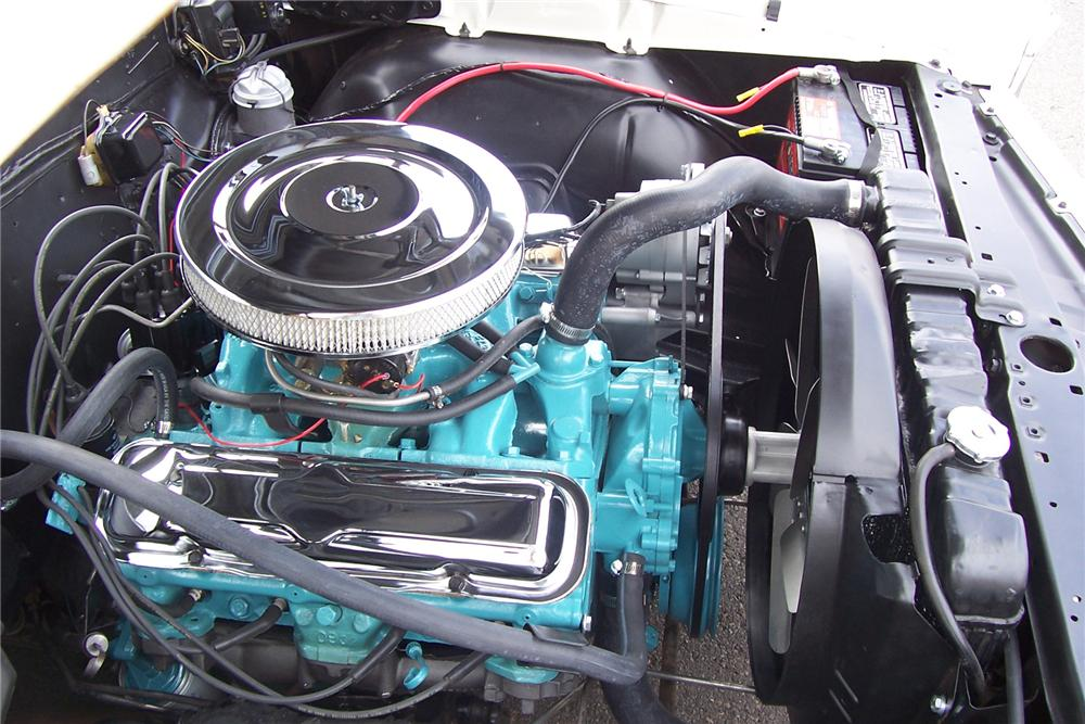 1966 PONTIAC GTO CONVERTIBLE  RE-CREATION - Engine - 71422