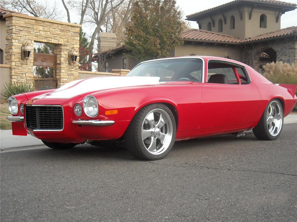 1970 CHEVROLET CAMARO RS CUSTOM COUPE - Front 3/4 - 71423
