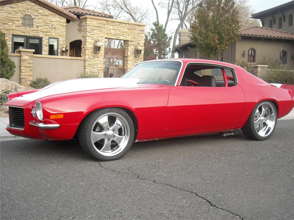 1970 CHEVROLET CAMARO RS CUSTOM COUPE - Side Profile - 71423