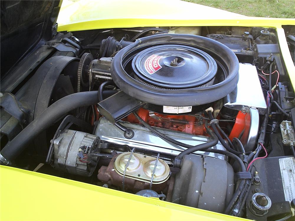 1975 CHEVROLET CORVETTE CONVERTIBLE - Engine - 71539