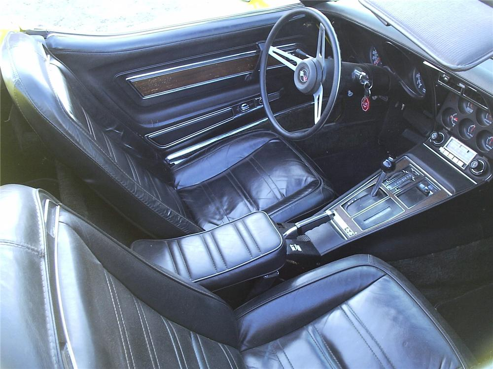 1975 CHEVROLET CORVETTE CONVERTIBLE - Interior - 71539