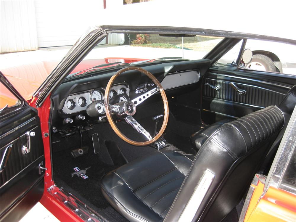 1966 FORD MUSTANG GT CONVERTIBLE - Interior - 71544