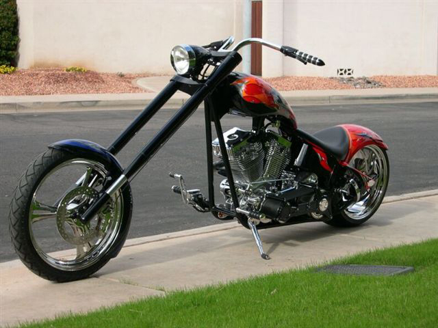 2005 SPECIAL CONSTRUCTION CUSTOM CHOPPER - Front 3/4 - 71545