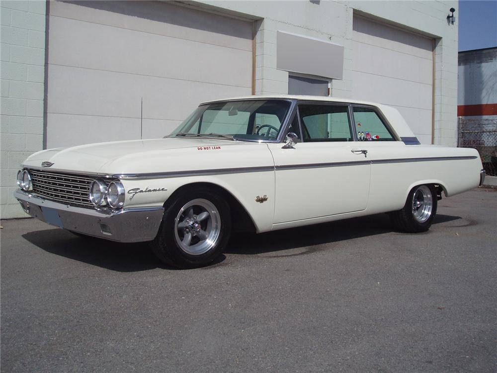 1962 ford galaxie 2 door post 71555. Black Bedroom Furniture Sets. Home Design Ideas