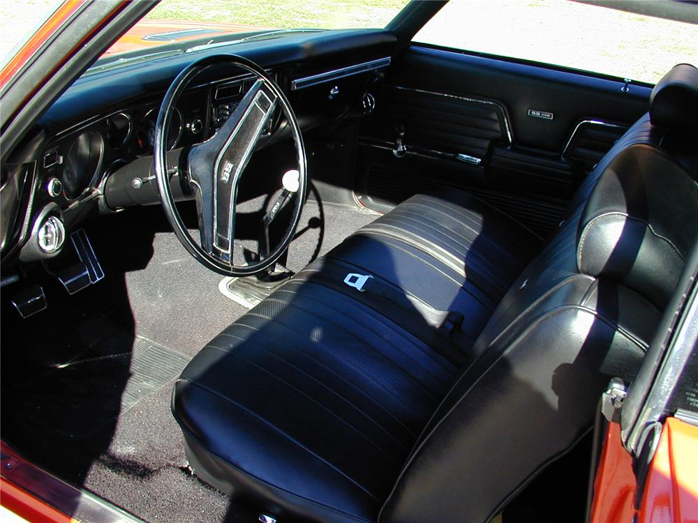1969 CHEVROLET CHEVELLE COUPE - Interior - 71557